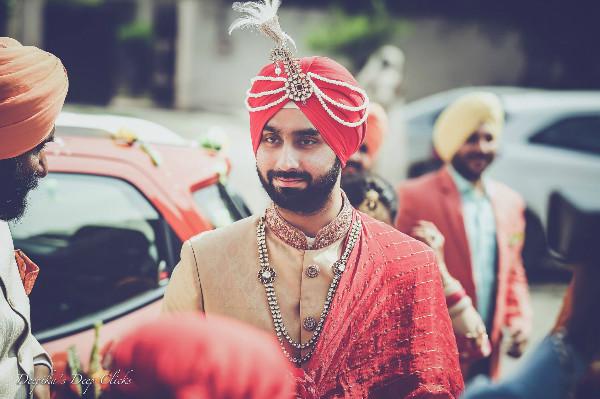 sikh groom, groom wear, groom accessories, groom outfit ideas