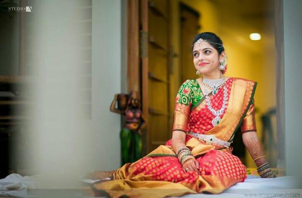 traditional kanjeevaram saree