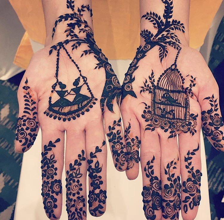 30 Trending Mehendi Designs For The 2017 Bride Shaadiwish
