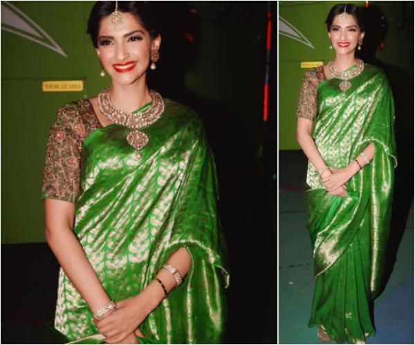 gorgeous silk saree