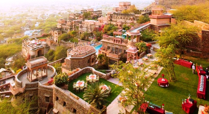 wedding venues in delhi ,The Neemrana Fort Palace