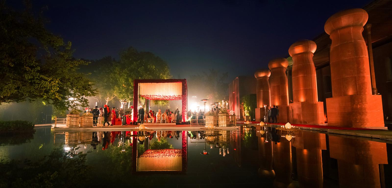 wedding venues in delhi ,The Roseate Hotel