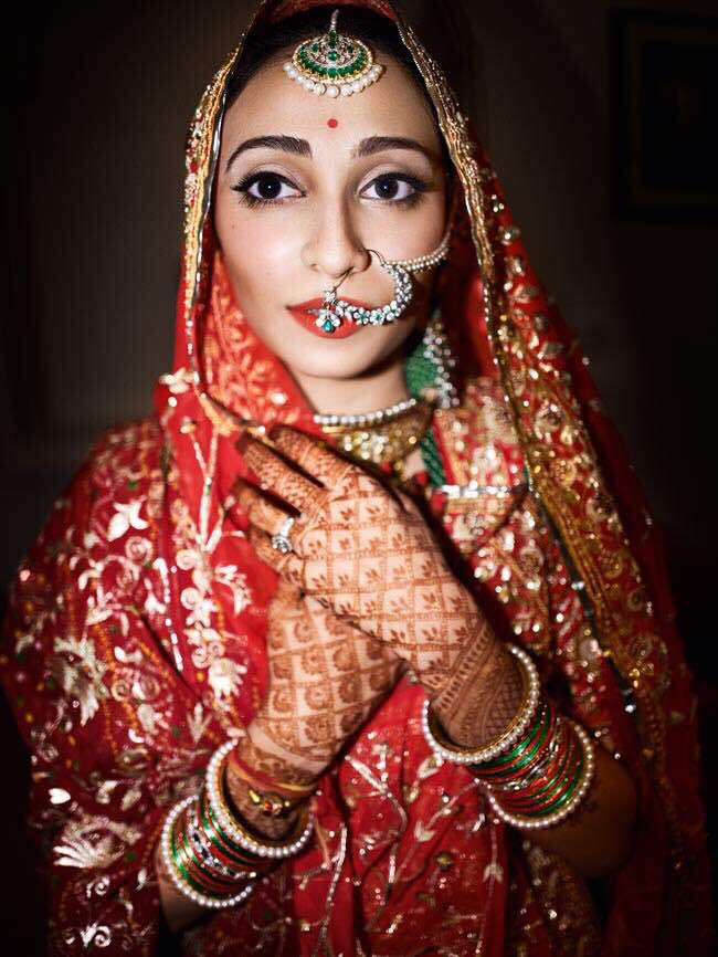 Real Brides Wearing The Most Gorgeous Naths At Their Wedding ...