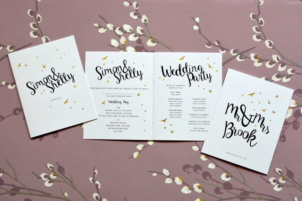 Wedding Invite Styles