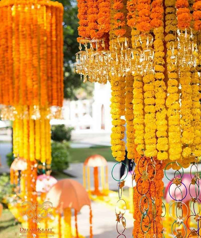 Haldi Wedding Decor