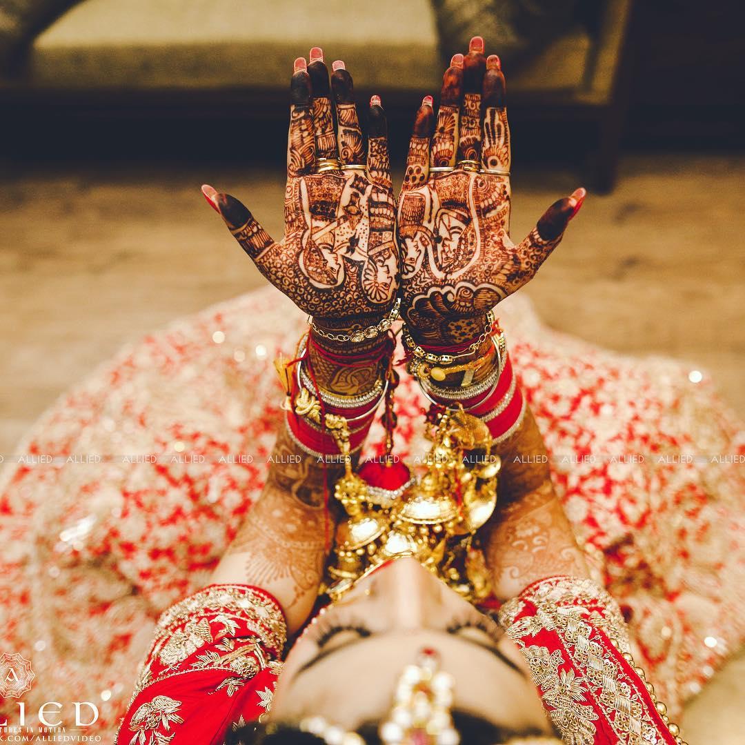 Hands Mehendi Design