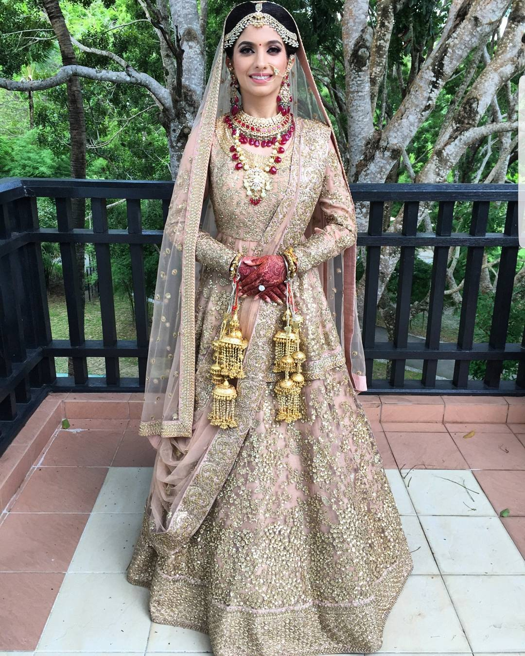 Real Indian Brides Who Wore An All-Gold Outfit On Their