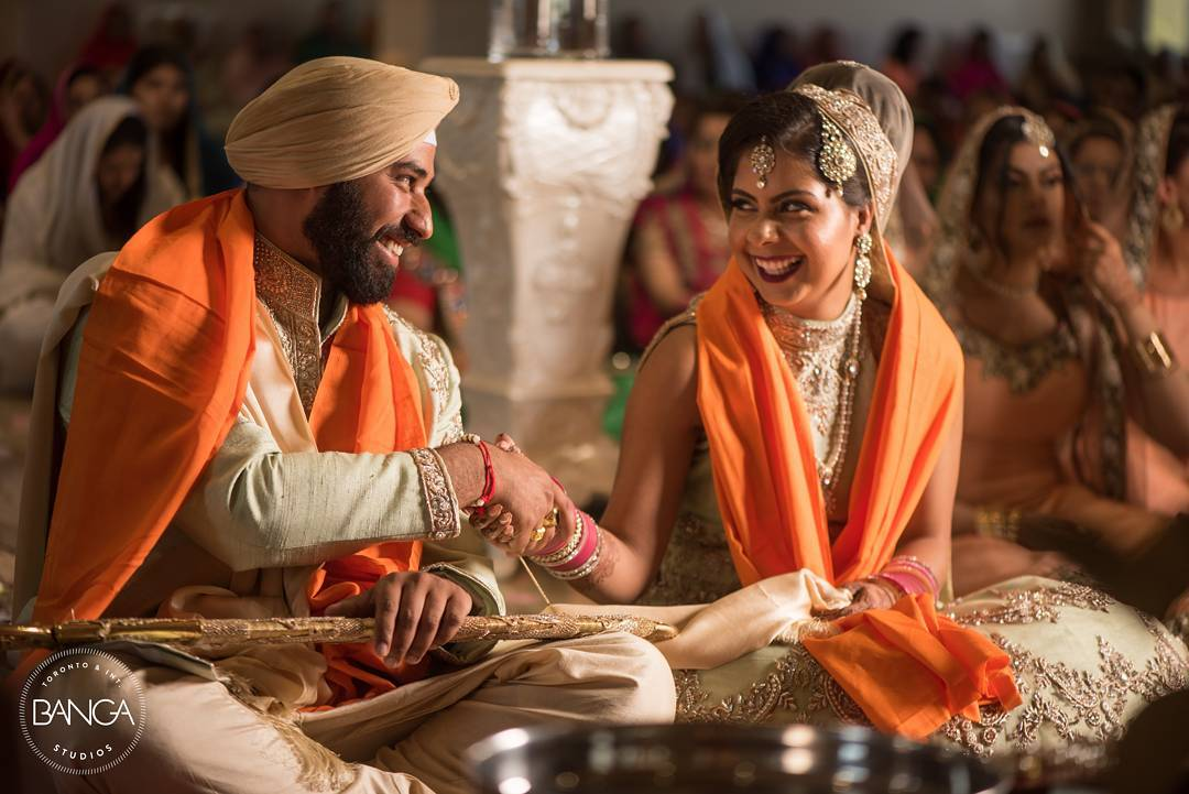 Sikh Couple, Anand Karaj