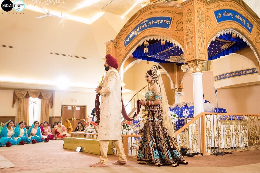 Gurudwara Wedding Pictures