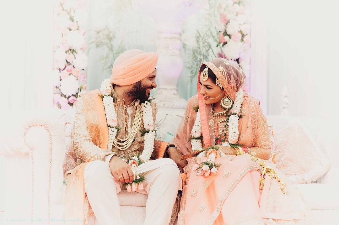 Sikh Couple, Anand Karaj, Couple Shot