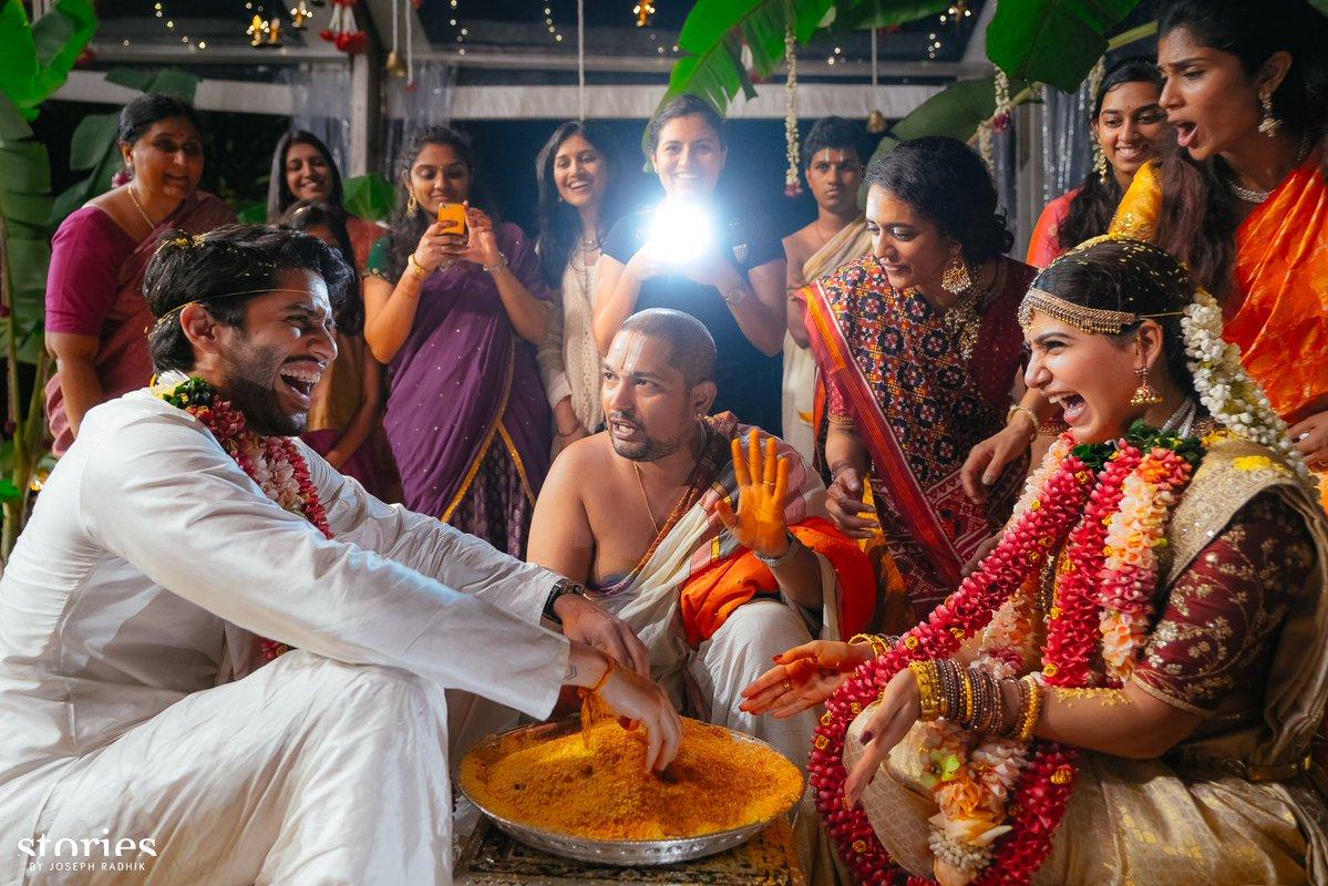 Naga Chaitanya and Samantha Prabhu wedding