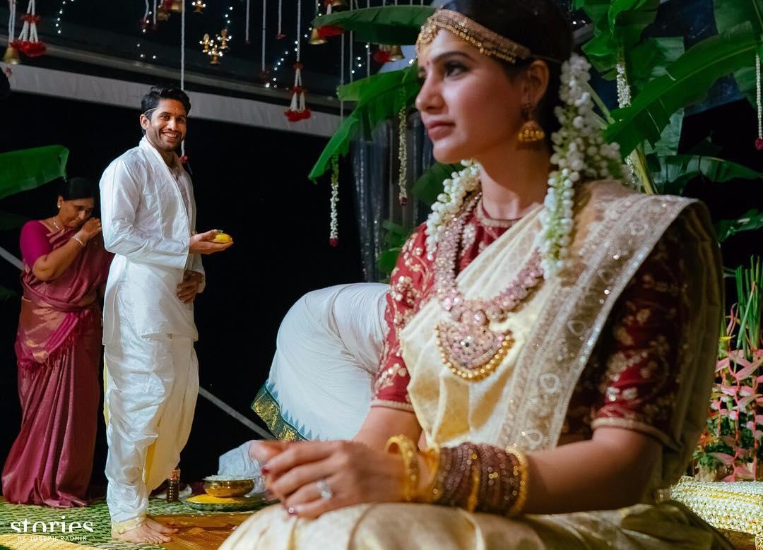 Naga Chaitanya and Samantha Prabhu