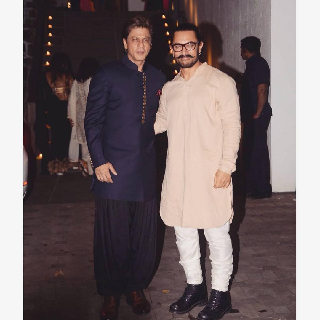Aamir Khan, Shah Rukh Khan, Diwali 2017