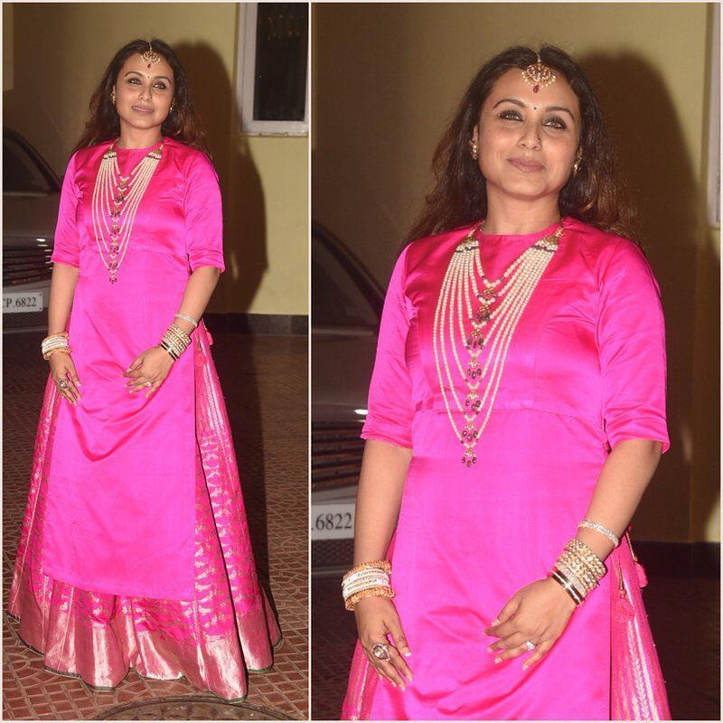 Rani Mukerji, Diwali 2017