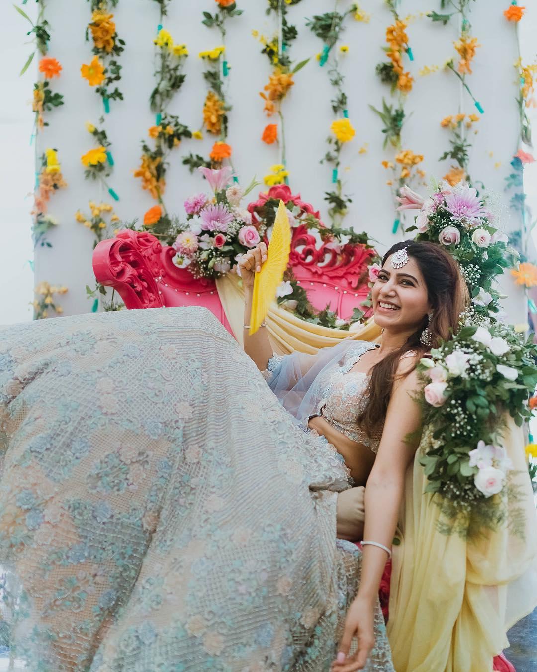 Samantha Prabhu wedding look