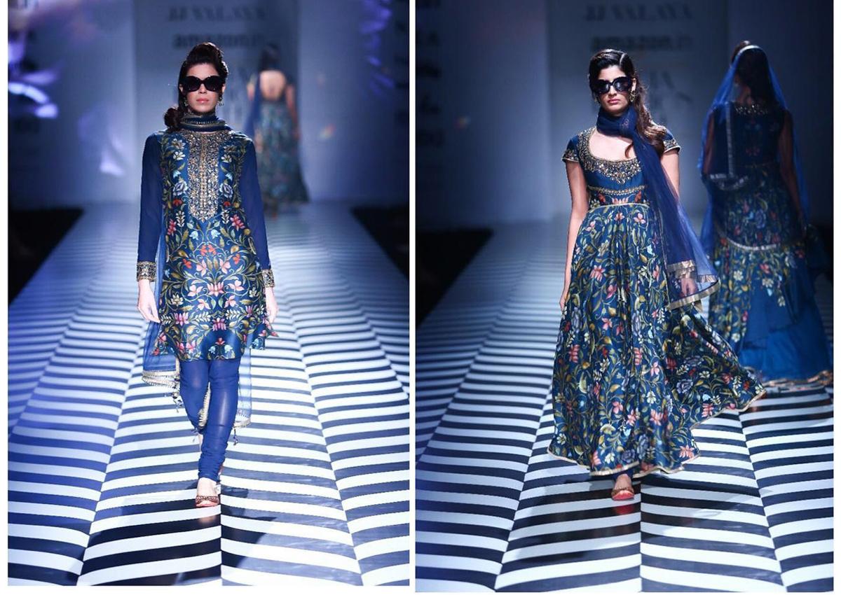JJ Valaya, AIFW SS'18, Amazon India Fashion Week, Bridal Lehenga