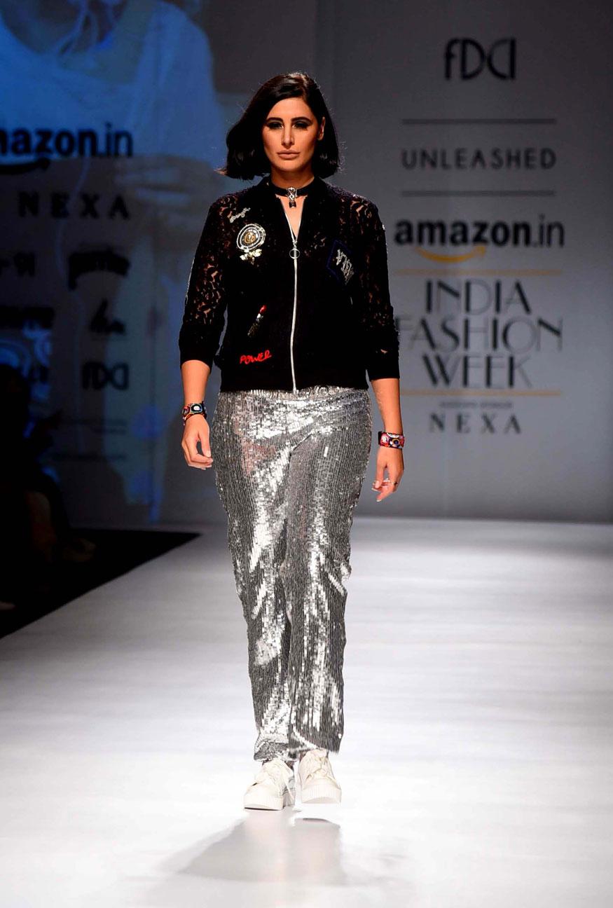 Amazon India Fashion Week, AIFW SS'18, Nargis Fakhri, Kara Ross