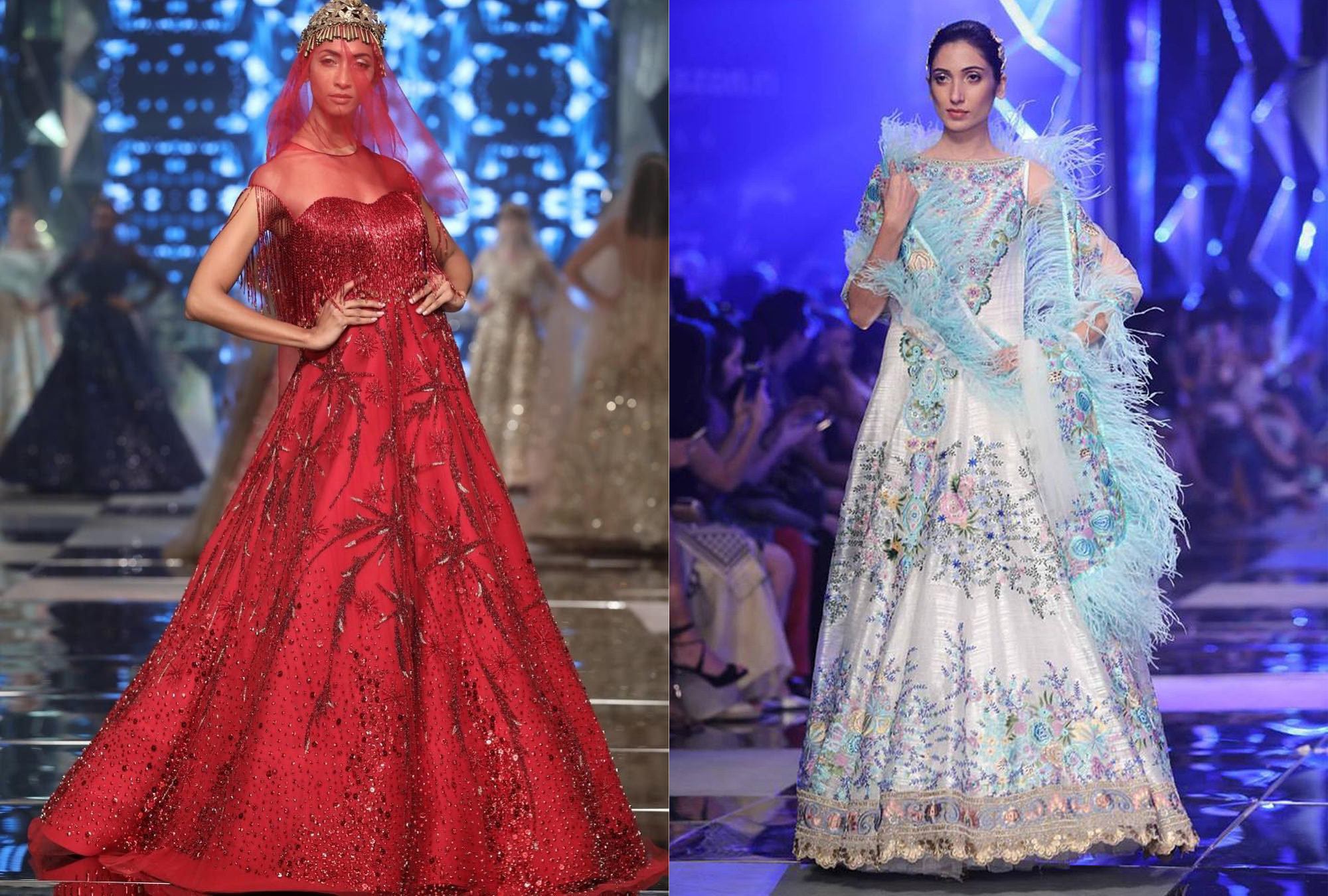 top 10 outfits from amazon india fashion week ss 18