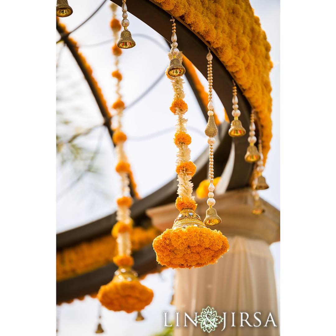 Genda Phool, Wedding Décor, Indian Wedding Décor