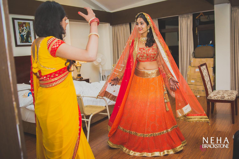 destination wedding, himachal wedding, indian bride, real bride