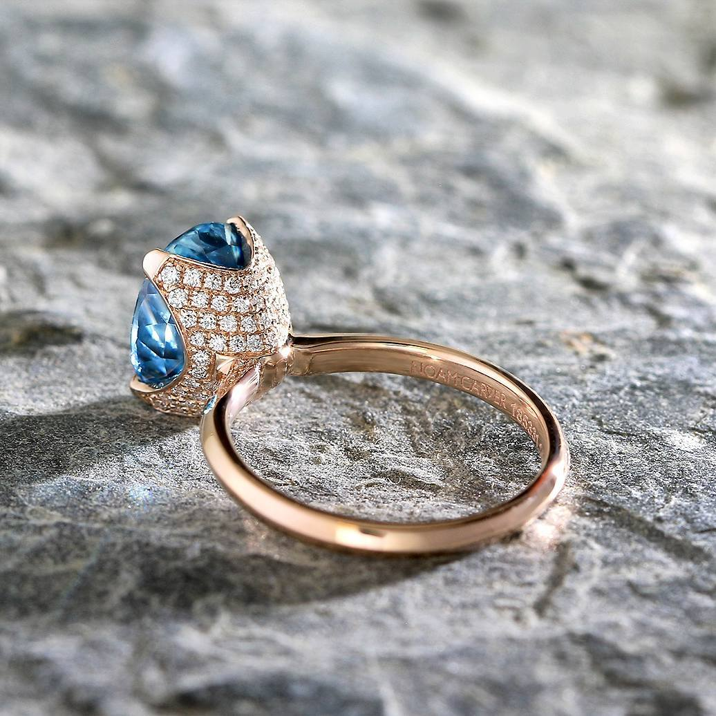 Ring, Diamond, Jewellery, Engagement Ring, Solitaire, Knife Edge Ring