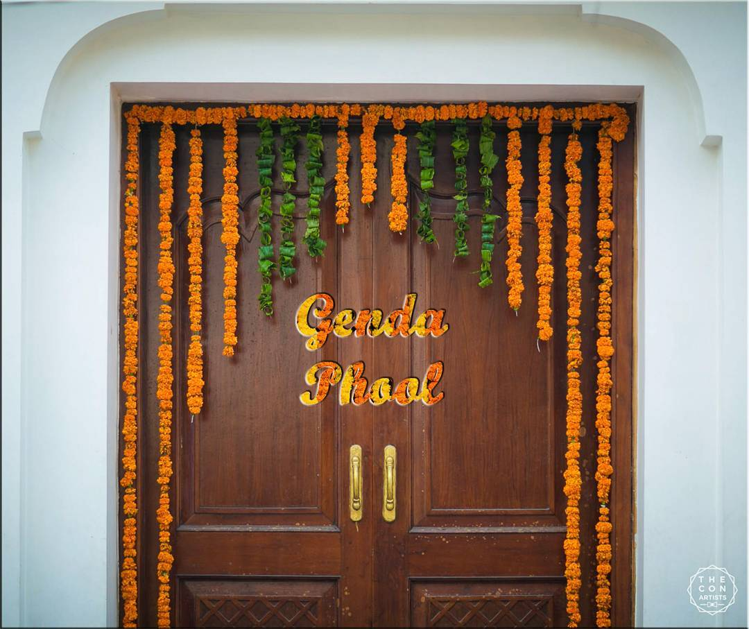 Genda Phool, Wedding Décor, Indian Wedding Decor