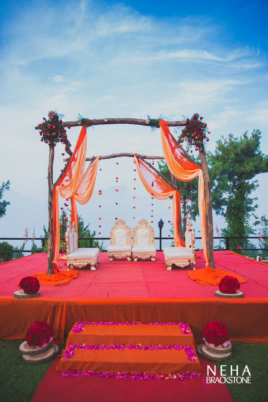 destination wedding, himachal wedding, wedding decor