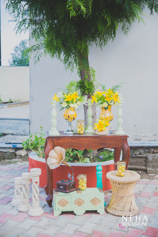 destination wedding, himachal wedding, wedding decor, haldi ceremony, haldi decor