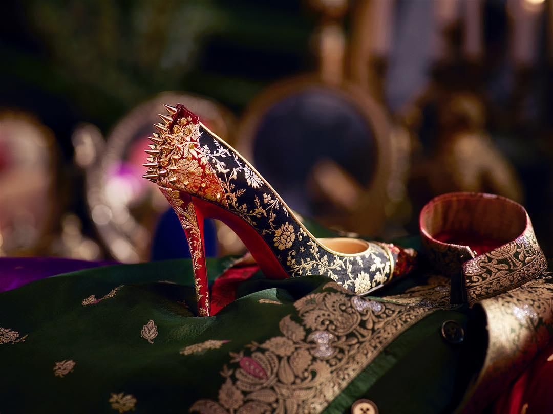Sabyasachi Mukherjee, Sabyasachi Saree, Christian Louboutin, Bridal Shoes,