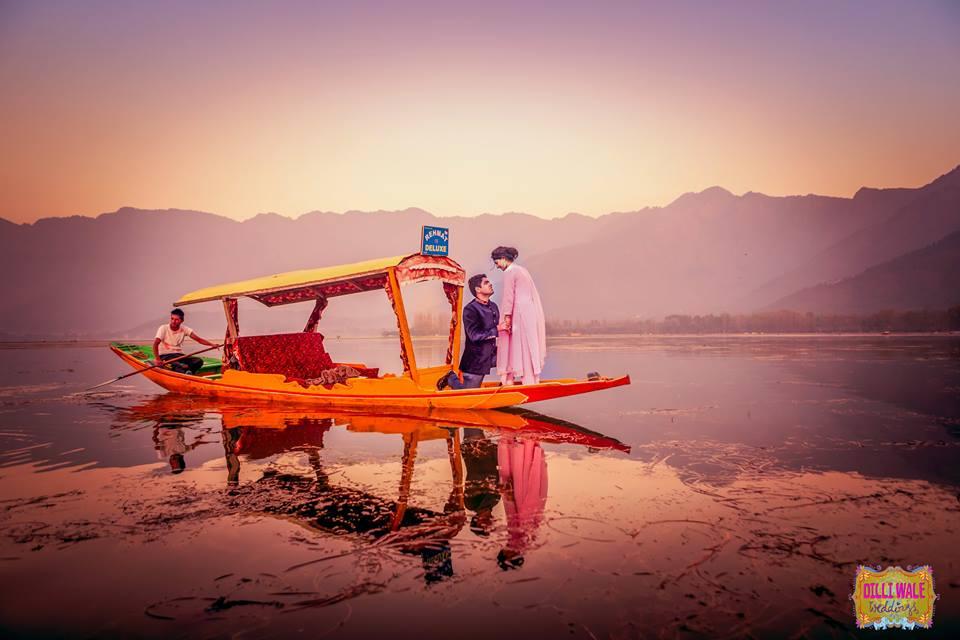 Kashmir, Pre Wedding Shoot, Romantic Shoot, Couple Shoot