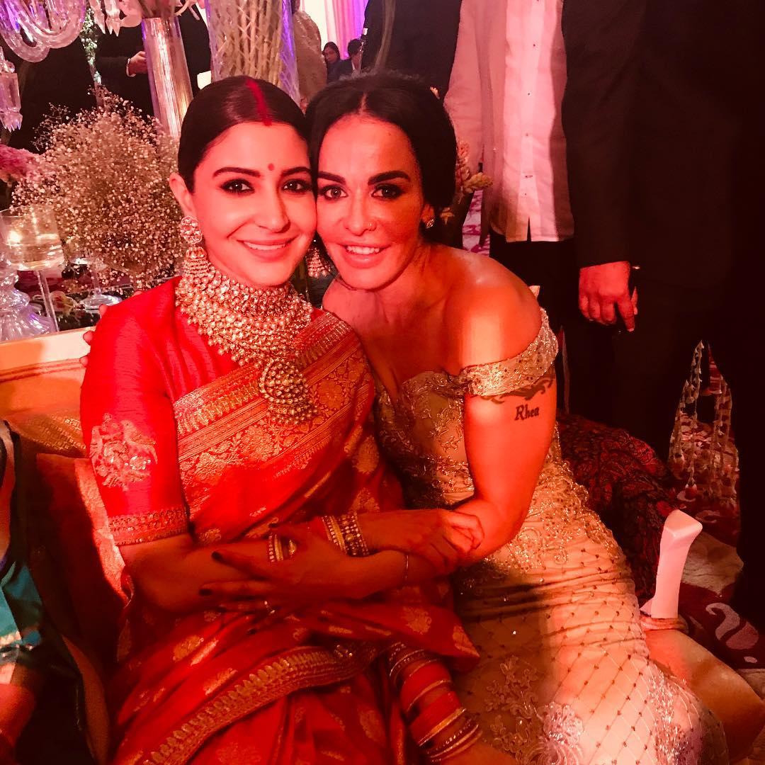 Virat Kohli, Anushka Sharma, Virushka Wedding Reception, Shikhar Dhawan, Ayesha Mukherjee
