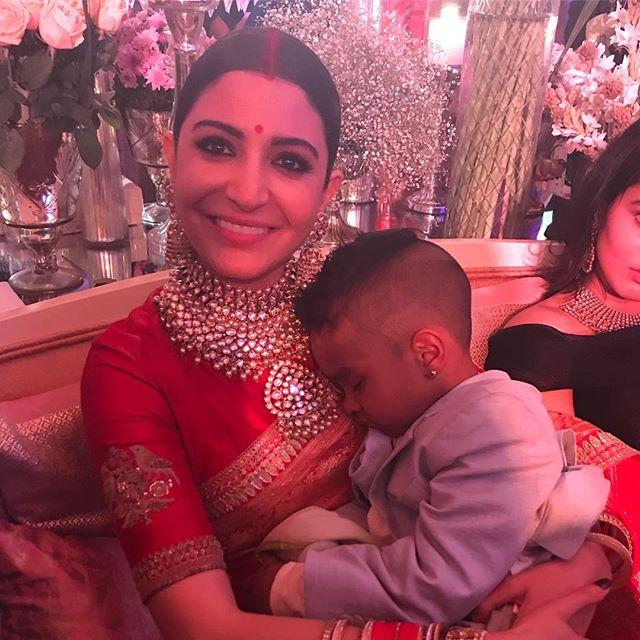 Virat Kohli, Anushka Sharma, Virushka Wedding Reception, Shikhar Dhawan Son Zorawar Dhawan
