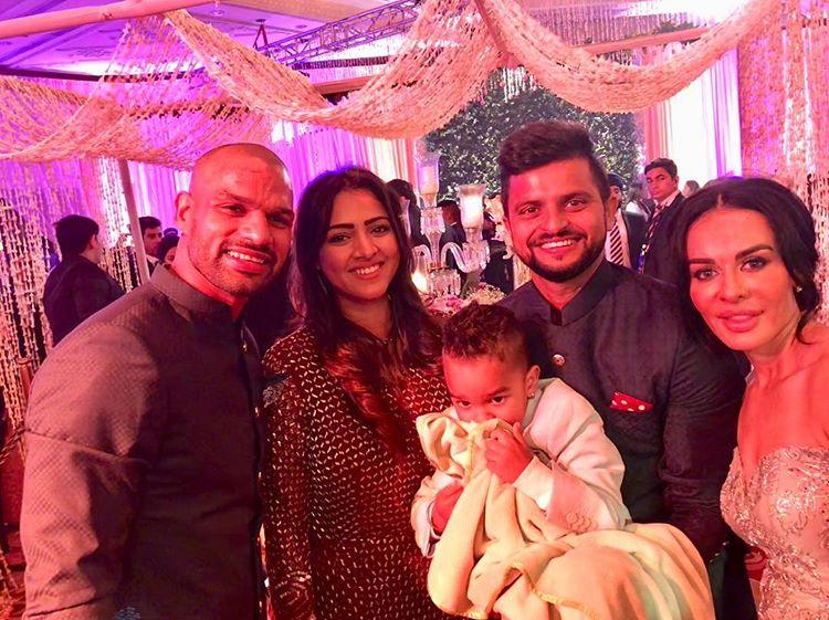 Virat Kohli, Anushka Sharma, Virushka Wedding Reception, Suresh Raina, Priyanka Chaudhary, Shikhar Dhawan, Ayesha Mukherjee