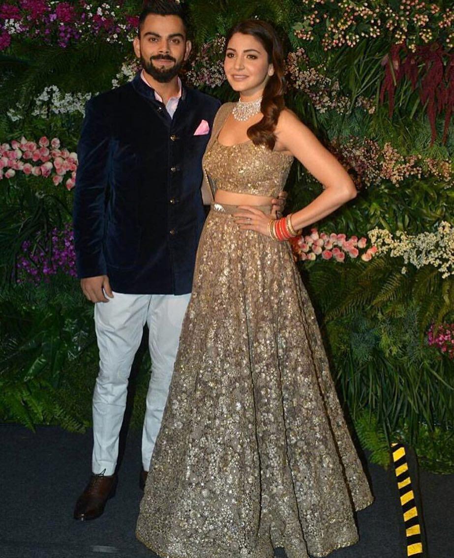 Virat Kohli, Anushka Sharma, Virushka Reception