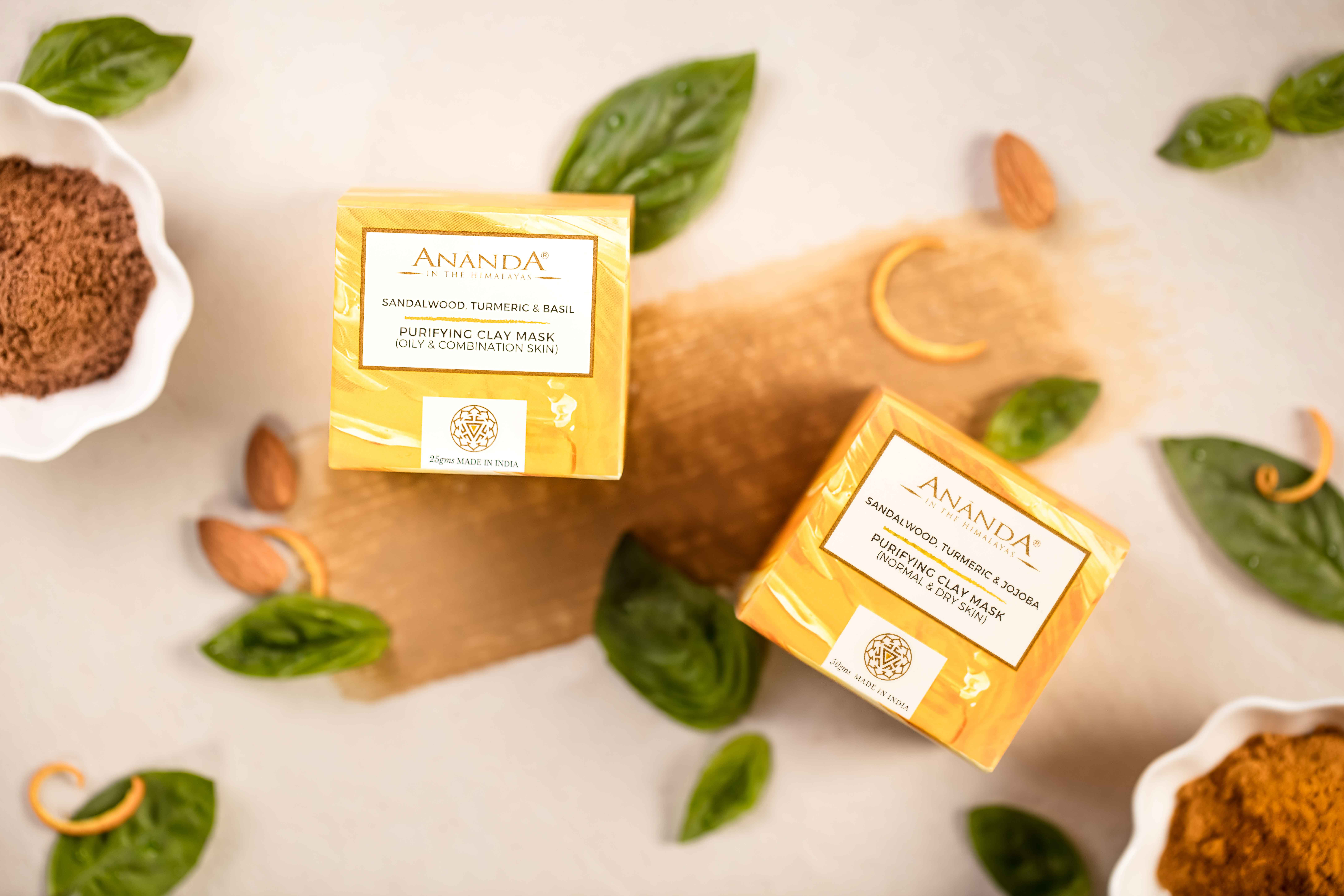 Purifying Clay Mask- Sandalwood, Bridal Beauty Routine