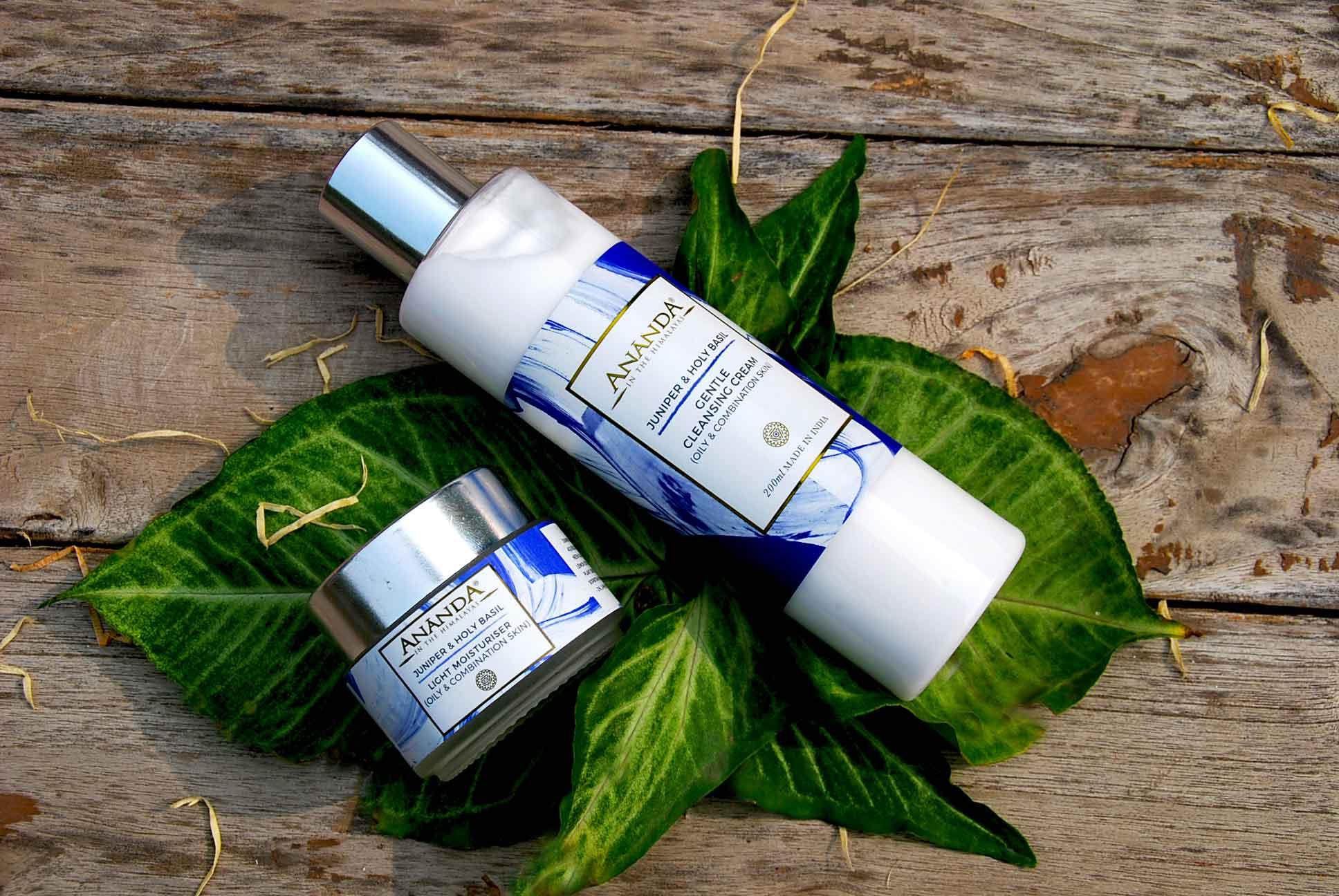 Ananda's Light Moisturiser For Oily Combination Skin, Ananda Spa, Bridal Beauty Routine