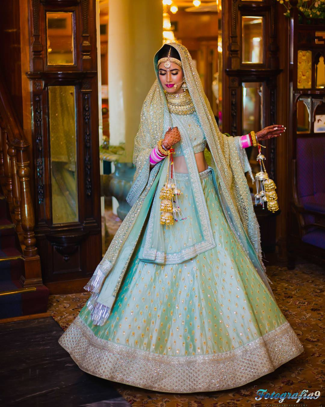 Trend Alert: These Brides Wearing Blue & Green Show Us What\'s The ...