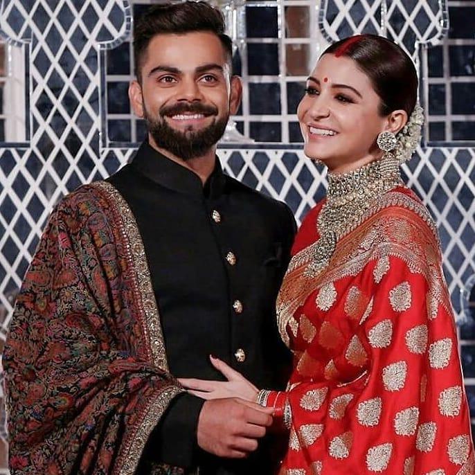 Virat Kohli, Anushka Sharma, Virushka Wedding Reception