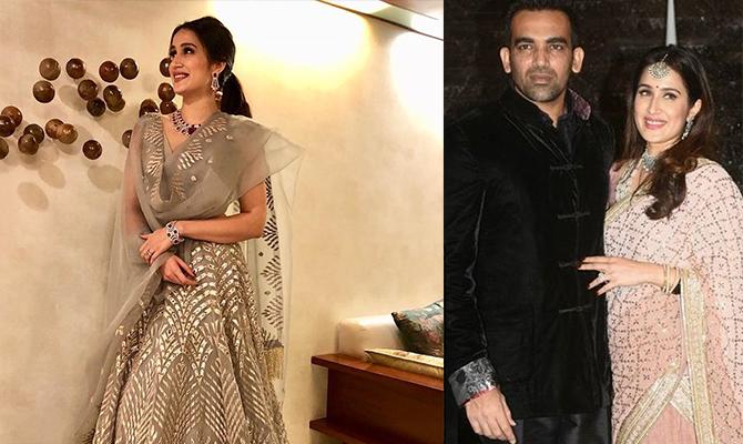 Zaheer Khan, Sagarika Ghatge, Sagarika Zaheer Wedding