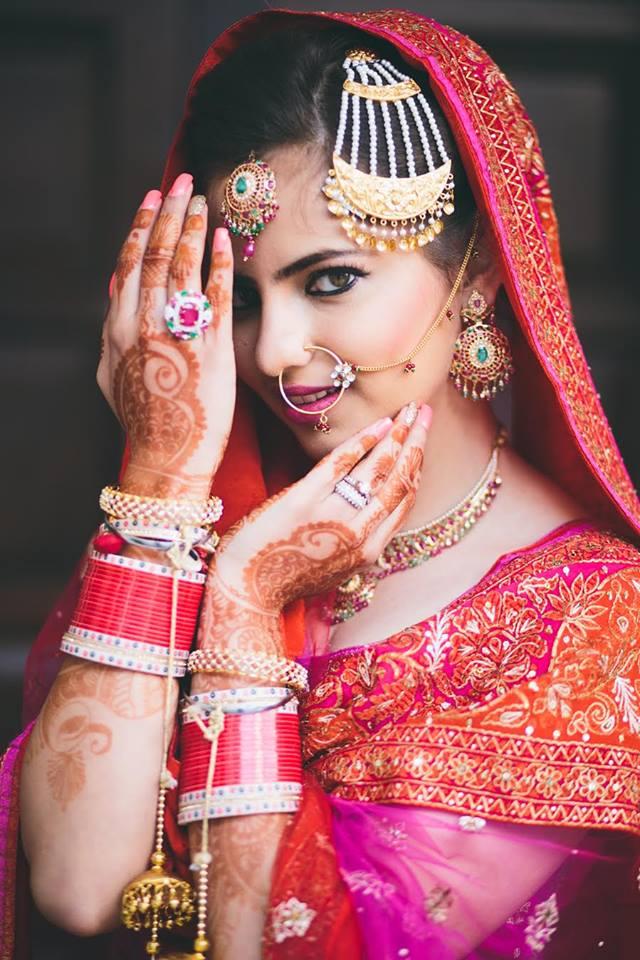 Bridal Makeup, Bridal Makeup Artist In Punjab, Rabia Grewal Makeup Artist