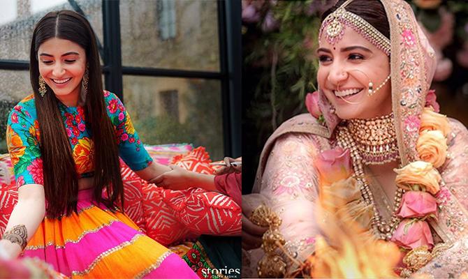 5 Most Stylish Indian Celebrity Brides Of 2017