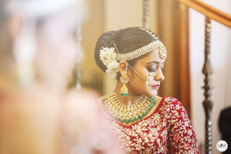Bridal Makeup, Bridal Makeup Artist In Punjab, Amanat Gill Makeup Artist