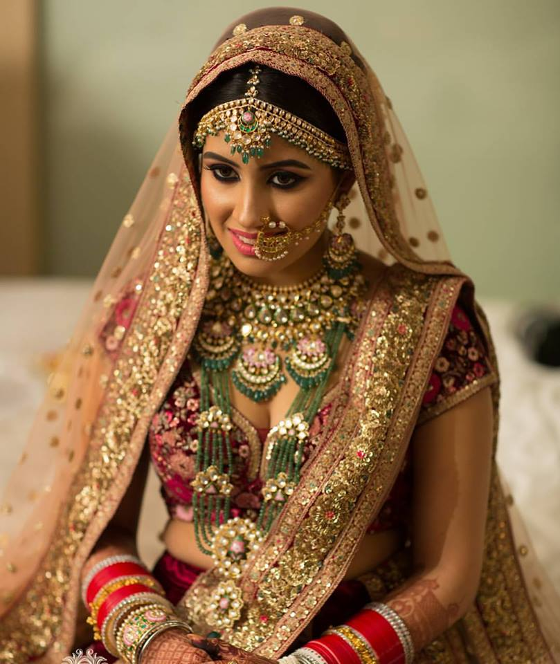 Bridal Makeup, Bridal Makeup Artist In Punjab, Shahid Naar Makeup Artist