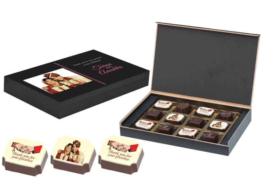 Bridesmaids Favors, Wedding Favors, Personalised Chocolates, Chococraft