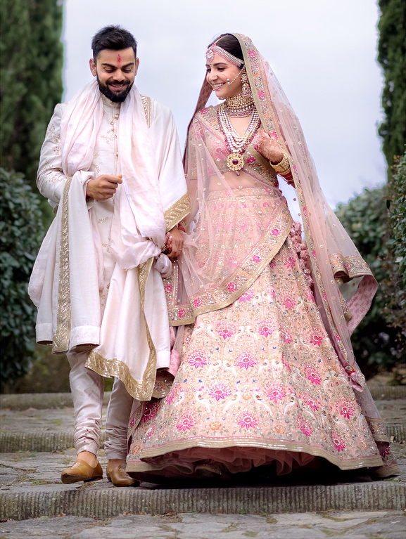 Anushka Sharma's wedding looks