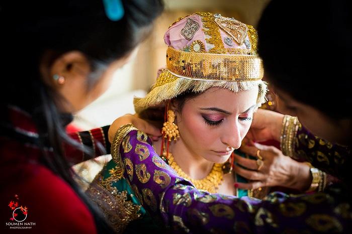 Kashmiri Indian Bride