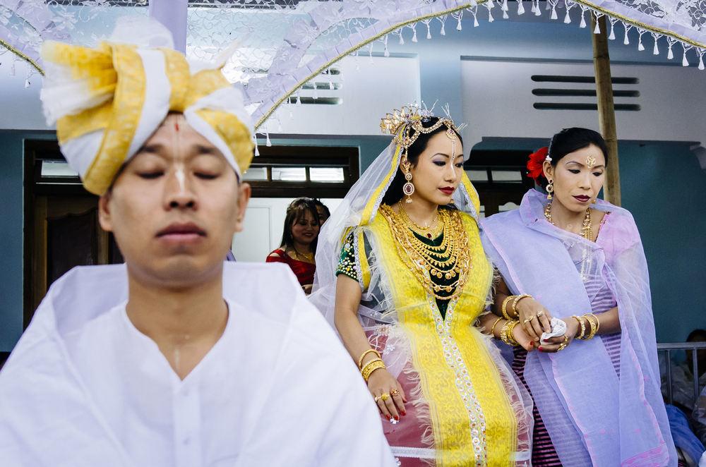 Manipuri Indian Bride