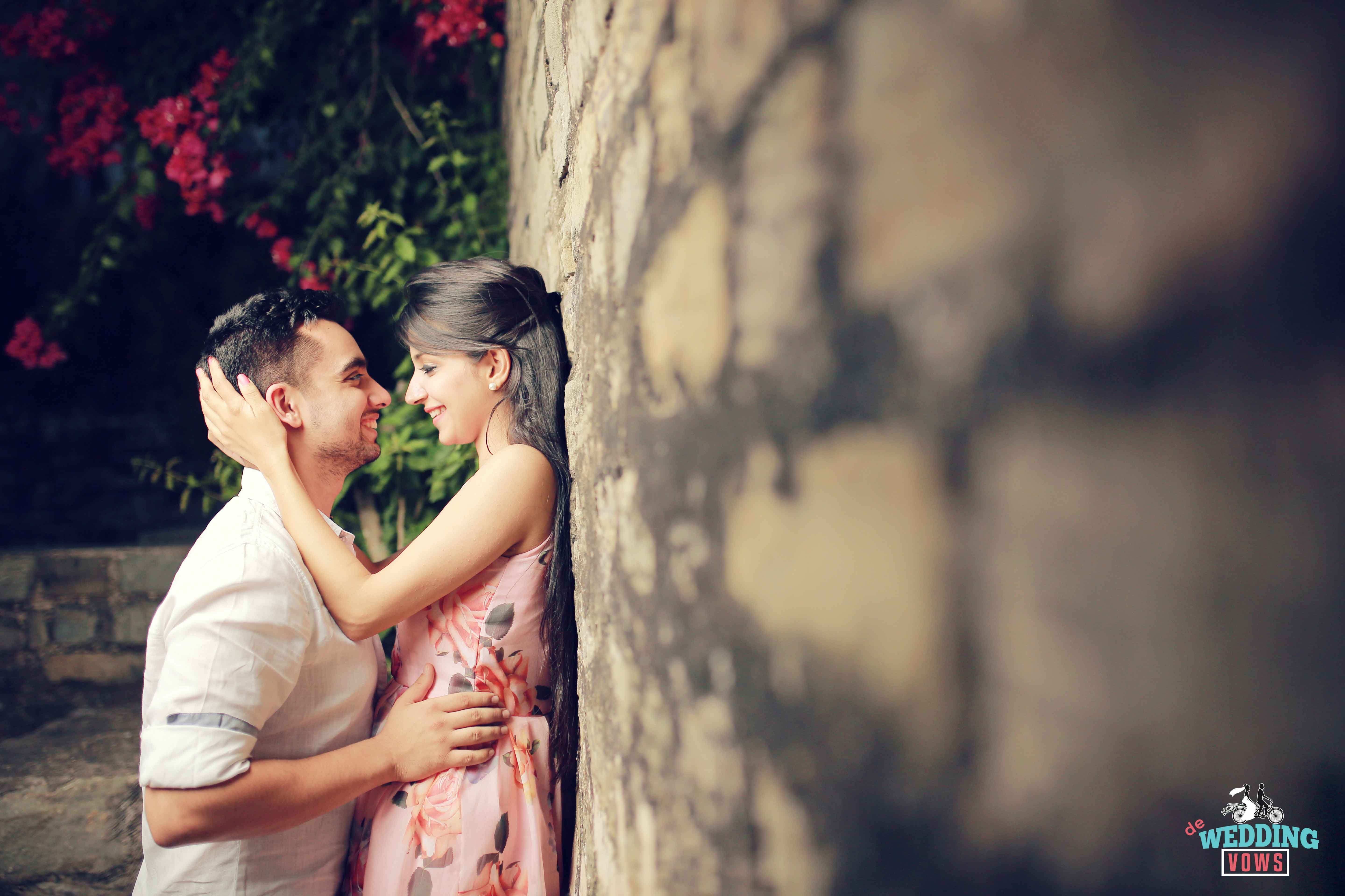 This Insanely Adorable Pre-Wedding Shoot By De Wedding Vows Will ...