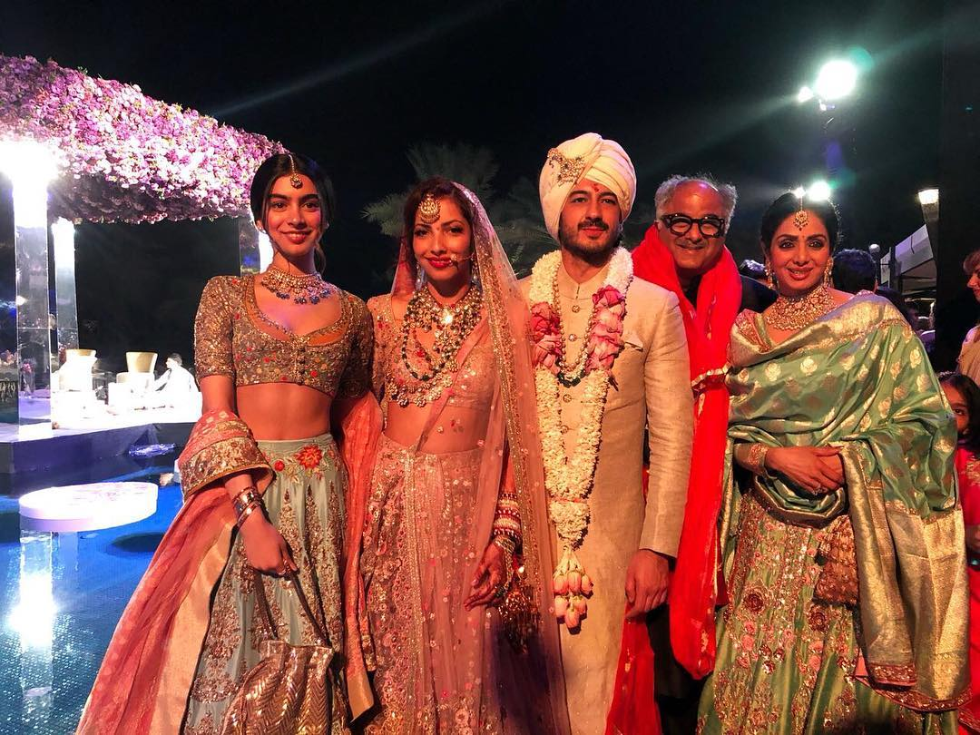 Mohit Marwah, Antara Motiwala, Mohit Marwah Antara Motiwala Wedding, Celebrity Wedding, Bollywood Wedding, Destination Wedding, Sridevi, Boney Kapoor, Khushi Kapoor