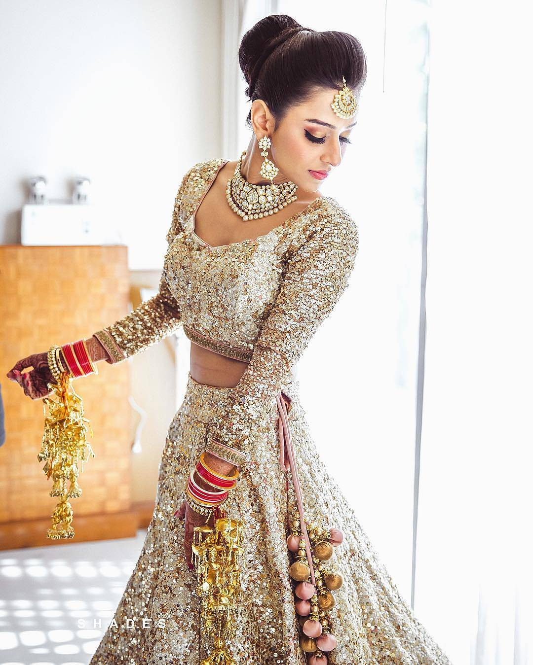 Top 10 bridal lehenga trends every bride of 2018 needs to for Punjabi wedding dresses online